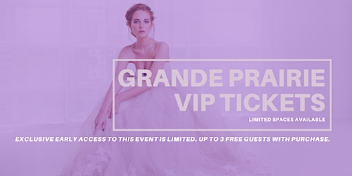 Opportunity Bridal VIP Early Access Grande Prairie Pop Up Wedding Dress Sale