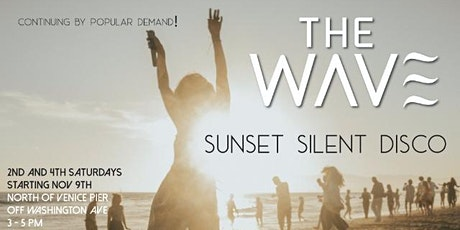 THE WAVE - SATURDAY SUNSET SILENT DISCO  tickets
