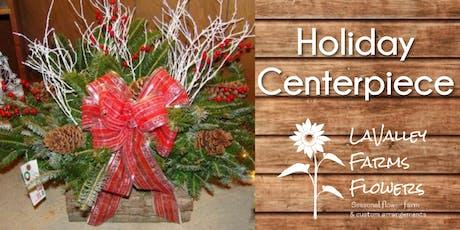 Holiday Centerpiece Class tickets