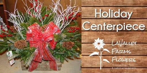 Holiday Centerpiece Class