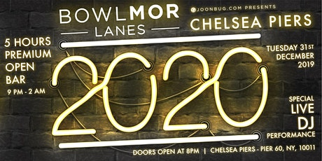 Bowlmor Chelsea Piers New Years Eve 2020 Party tickets