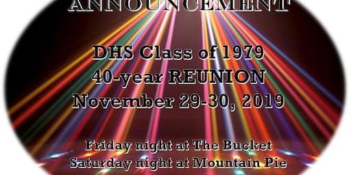 Saturday Night - DHS 40-year Reunion