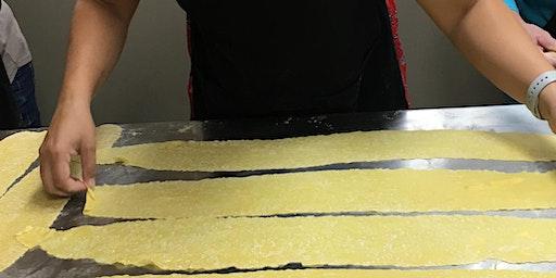 Fettuccine Pasta from Scratch! (Eggless Recipe) using Semolina & Durum
