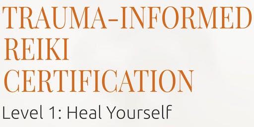 Trauma-Informed Reiki Certification Level 1