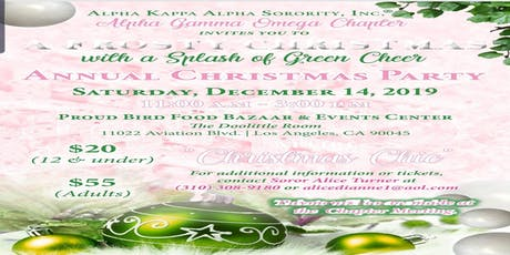 A Frosty Christmas with a Splash of Green Cheer tickets