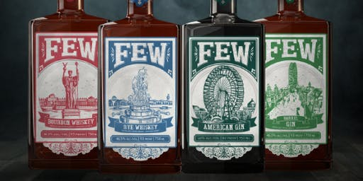 FEW Spirits tasting with Women Who Whiskey