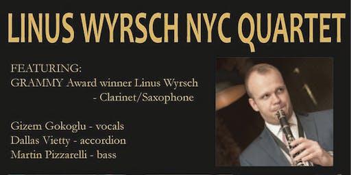 GRAMMY Award Winner Linus Wyrsch NYC Quartet