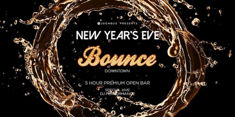 Shred It Events Buffalo Ny 2020.Bounce New Years Eve 2020 Party Tickets Tue Dec 31 2019