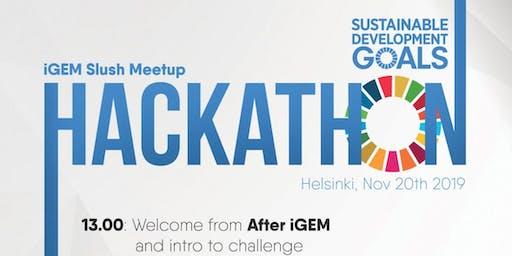 Slush - Sustainable Development Goals Hackathon