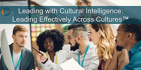Talent 2025 | Cultural Competency Training billets
