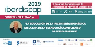 """IBERDISCAP   """"La educación de la ingeniería biomédica"""""""