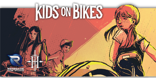 Kids on Bikes RPG at PAX Unplugged: Kids in Toons
