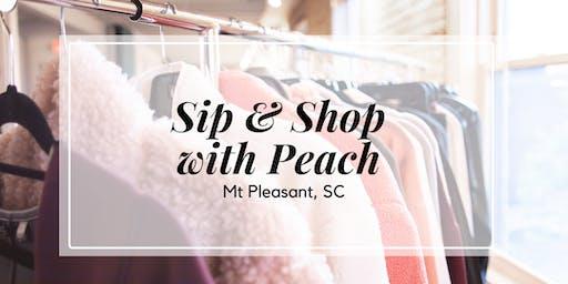 Meet Peach Sip + Shop  | Mt. Pleasant