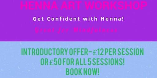 Henna Art Workshops