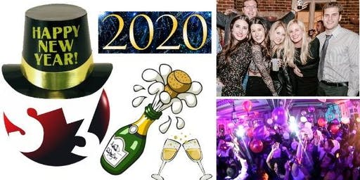 Chicago 2020 New Year's Eve NYE Extravaganza - It's our 7th year renting out a 2 level bar! 300 people attend! 4 hour food & drink package