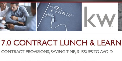 Real Estate 7.0 Contract Lunch & Learn