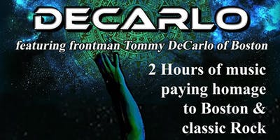 DeCarlo -featuring Boston frontman Tommy DeCarlo