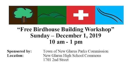 Free Bluebird Birdhouse Building Workshop