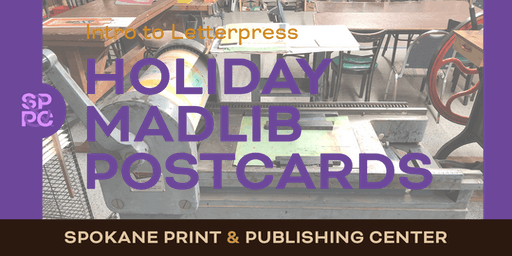 Intro to Letterpress: Holiday MadLibs Postcards