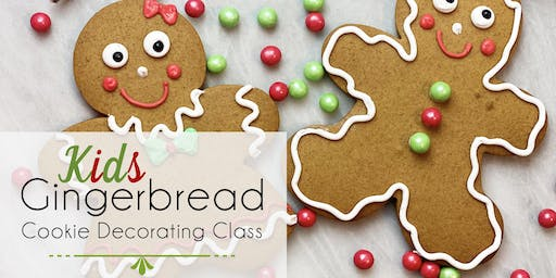Kids Gingerbread Cookie Decorating Class
