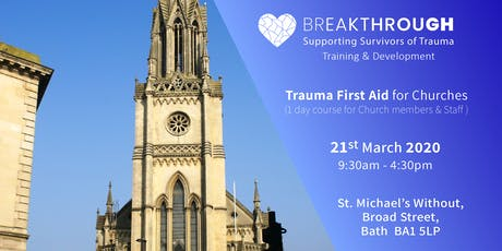 Breakthrough Training -- Trauma First Aid for Churches tickets