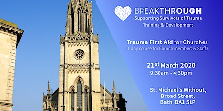 Breakthrough Training -- Trauma First Aid for Churches tickets