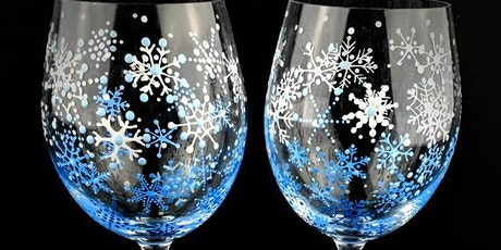 Holiday Wine Glass Painting Event tickets