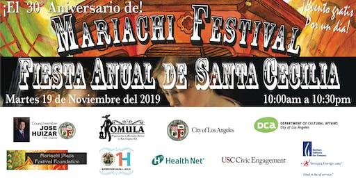 Mariachi Plaza Festival y Fiesta Anual de Santa Cecilia