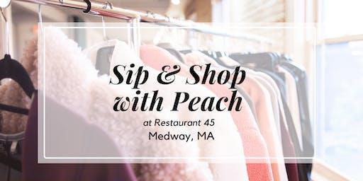 Meet Peach, Sip + Shop | Medway, MA