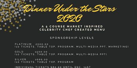 Dinner Under The Stars 2020 tickets