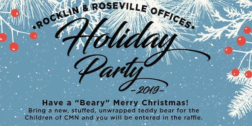 """Beary"" Merry Holiday Celebration, RE/MAX Gold Roseville & Rocklin Offices!!"