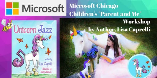 Parent and Me - A Kid's Unicorn Jazz Workshop at Microsoft Store Chicago