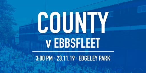 #StockportCounty vs Ebbsfleet United