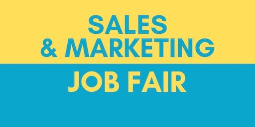 Dallas Sales & Marketing Job Fair - December 3, 2019 - Career Fair