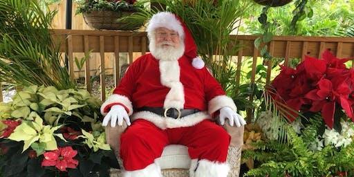 Santa in the Gardens!