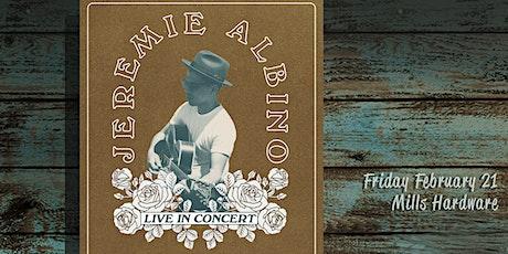 Jeremie Albino + Dave Monks tickets