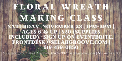 Floral Wreath Making Class