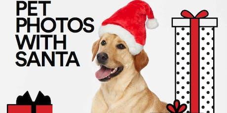 Pet Photos with Santa tickets