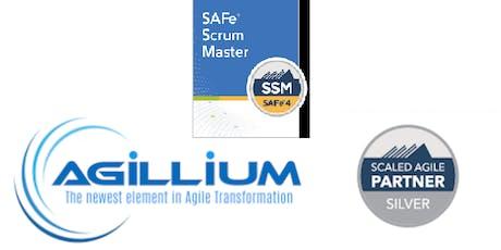 SAFe Scrum Master(SSM) 2 day class in London, UK tickets