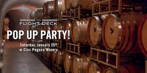 A Flight Deck Pop-Up Event   Wine Club