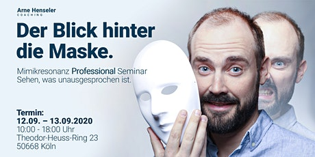 Der Profi-Blick hinter die Maske - Mimikresonanz Professional Training Tickets