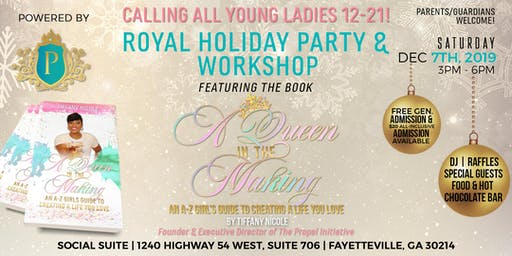 Teen Girl's Holiday Party  & Workshop