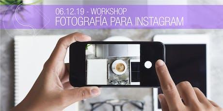 Workshop Fotografía para Instagram - Santa Fe entradas