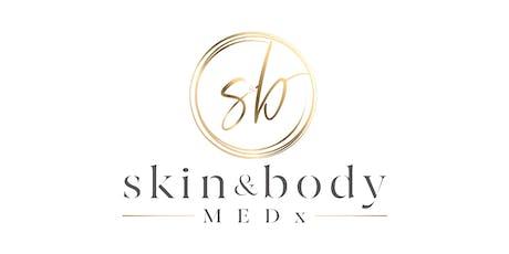 skin&bodyMEDx: Botox & Bubbles Event tickets
