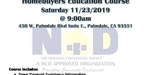 HUD Certified Home Buyers Education 8 Hour Course
