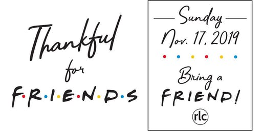 Thankful For Friends Day