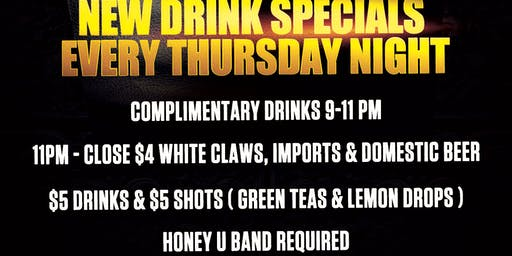 Honey U Thursdays @ Honey Delray