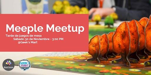 Meeple Meetup: Tarde de juegos de mesa