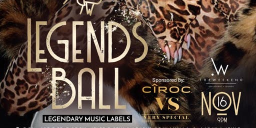 #THELEGENDSBALL: LEGENDARY MUSIC LABELS