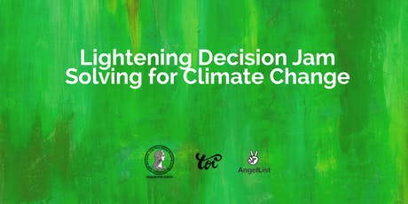 Lightening Design Jam Solving for Climate Change tickets
